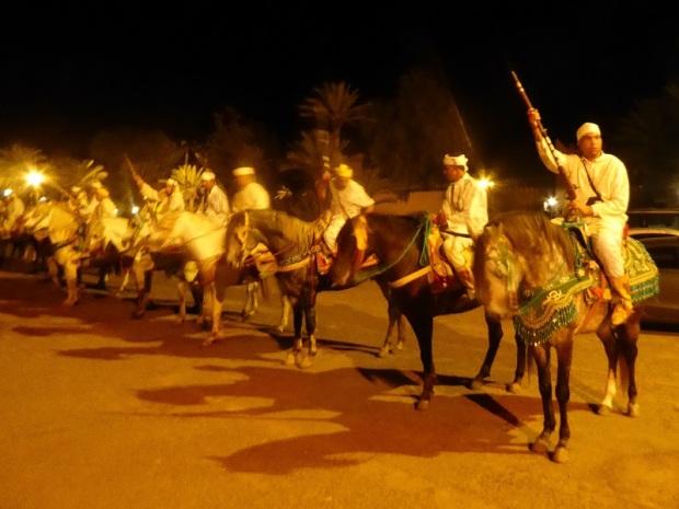 316. Marrakech. cena-espectáculo en Chez Alí