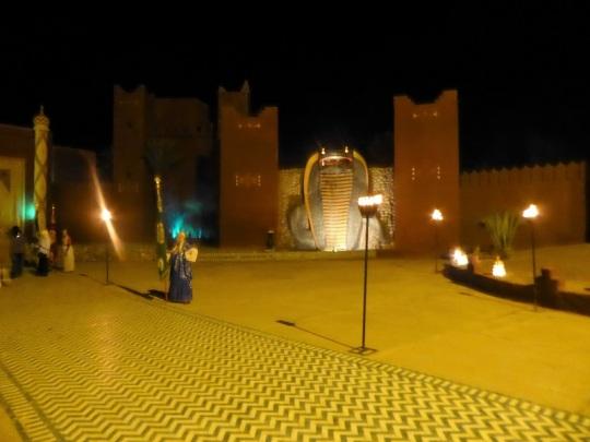 319. Marrakech. cena-espectáculo en Chez Alí