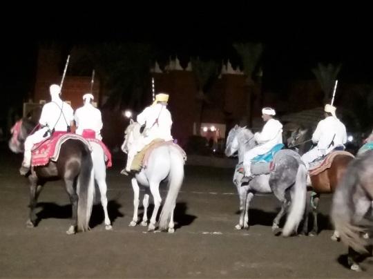 338. Marrakech. cena-espectáculo en Chez Alí