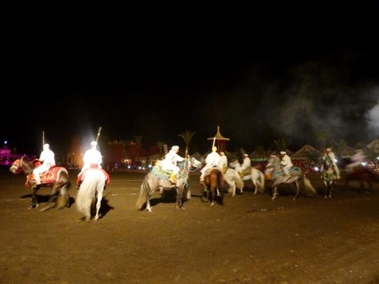 339. Marrakech. cena-espectáculo en Chez Alí