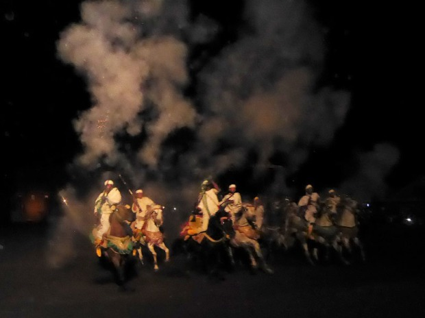 345. Marrakech. cena-espectáculo en Chez Alí
