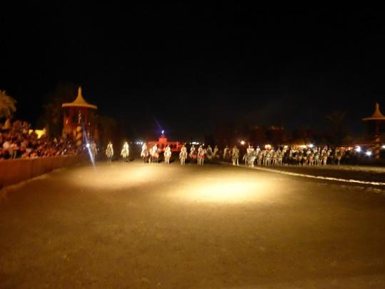 358. Marrakech. cena-espectáculo en Chez Alí