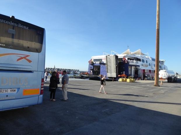 36. Tarifa. Esperando el ferry