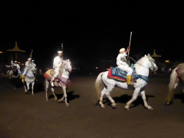 362. Marrakech. cena-espectáculo en Chez Alí