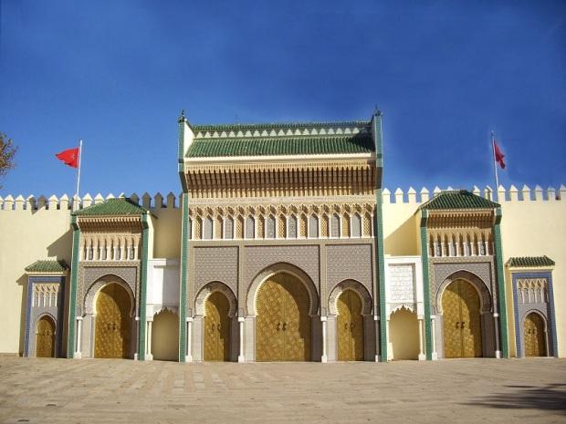 824. Fez. Palacio Real