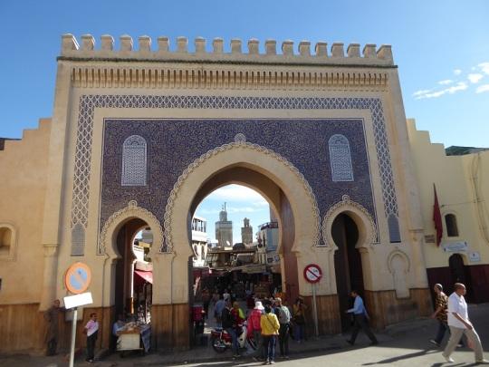 857. Fez. Bab Boujeloud