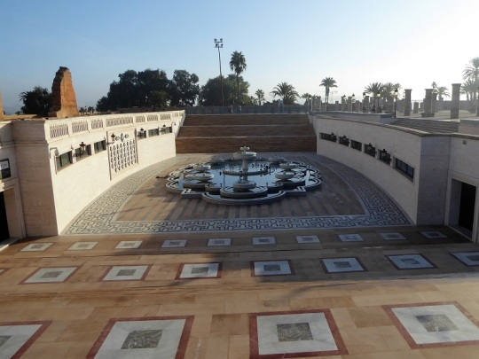 88. Rabat. Tumba del soldado desconocido
