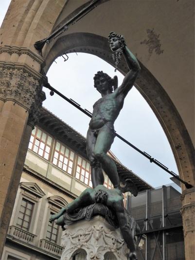 047. Loggia de los Lanzi. El Perseo de Cellini