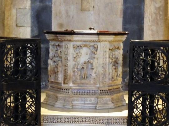 081. Batisterio. Pila bautismal