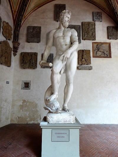 1002. Museo del Bargello. Océano. Giambologna