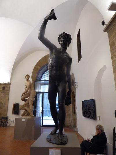 1010. Museo del Bargello. Baco. Giambologna