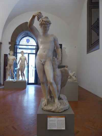 1015. Museo del Bargello. Ganímedes. B. Cellini. 1548-1550