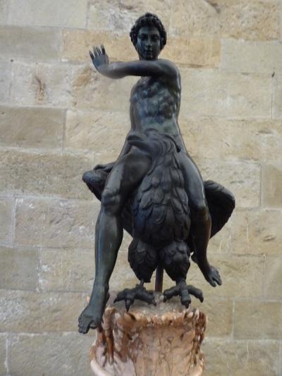 1017. Museo del Bargello. Ganímedes. Bartolomeo Ammanati. 1500