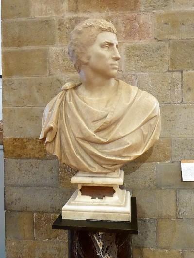 1018. Museo del Bargello. Bruto. Miguel Ángel. 1539