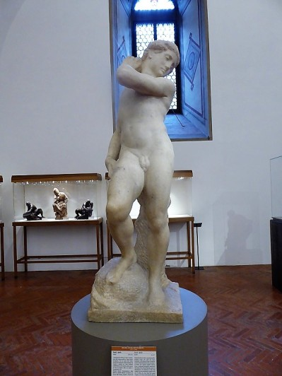 1019. Museo del Bargello. David-Apolo. Miguel Ángel. 1530-1532