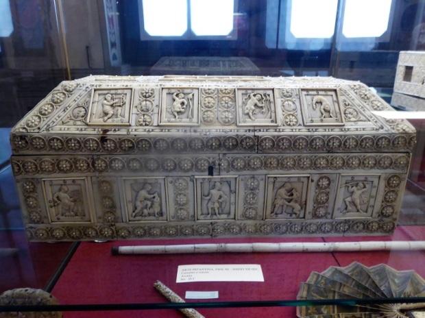 1024. Museo del Bargello. Caja. Arte bizantino. Fines XI