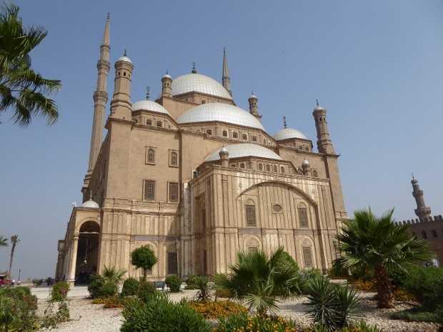 1028. El Cairo. La Ciudadela. Mezquita de alabastro o de Mohammad Alí