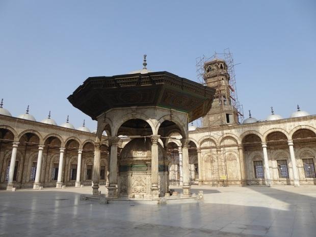 1032. El Cairo. La Ciudadela. Mezquita de Alabastro o de Mohammad Alí