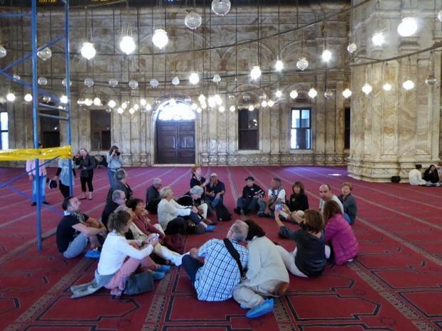 1034. El Cairo. La Ciudadela. Mezquita de Alabastro o de Mohammad Alí