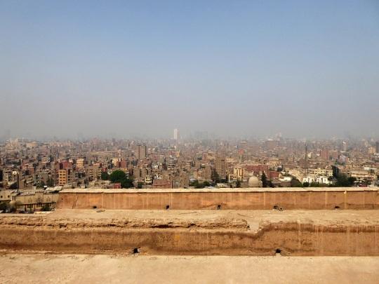 1042. El Cairo desde La Ciudadela