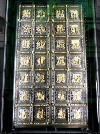 105. Museo della Opera del Duomo. Puerta norte del Batisterio Ghiberti. 1403-1424