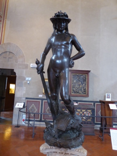 1051. Museo del Bargello. David. Donatello