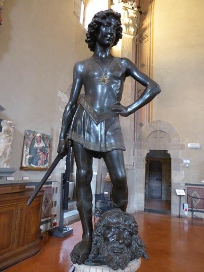 1052. Museo del Bargello. David. Andrea del Verrocchio. 1466-1469
