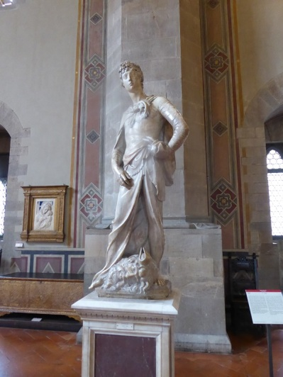 1053. Museo del Bargello. David. Donatello. 1408