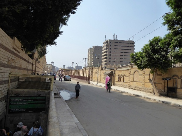 1054. El Cairo. Barrio copto