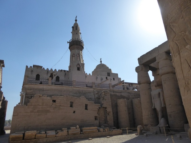 106.Templo de Luxor. Mezquita del XIII
