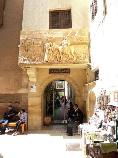 1060. El Cairo. Barrio copto
