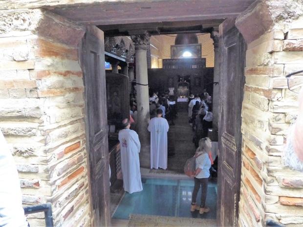 1068. El Cairo. Barrio copto. San Sergio y San Baco