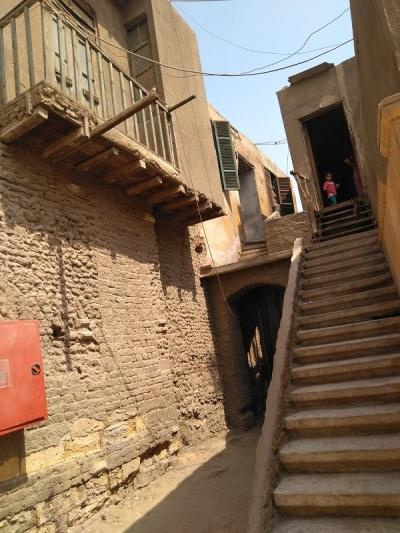1073. El Cairo. Barrio copto