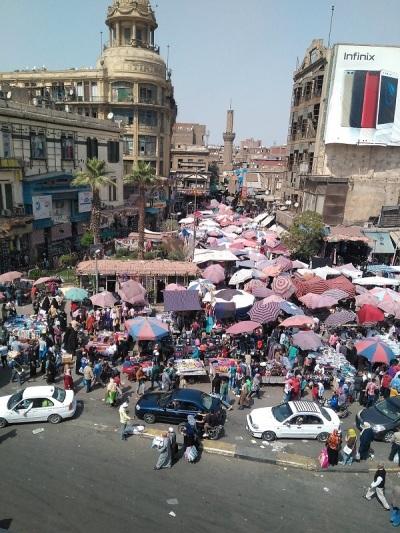 1086. El Cairo. Mercado del Viernes