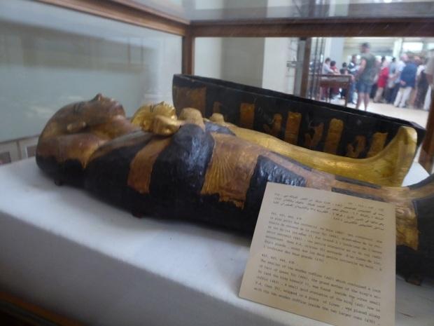 1140. Museo de Antigüedades. Tesoro de Tuthankamon