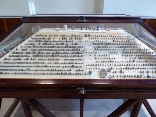 1142. Museo de Antigüedades. Tesoro de Tuthankamon