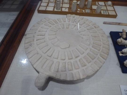 1157. Museo de Antigüedades. Tableros de juego