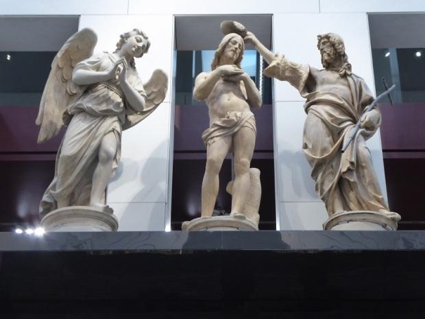 117. Museo della Opera del Duomo. Bautismo de Cristo. Andrea Sansovino. 1502-1505