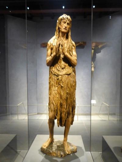 121. Museo della Opera del Duomo. María Magdalena. Donatello. Mediados del XV