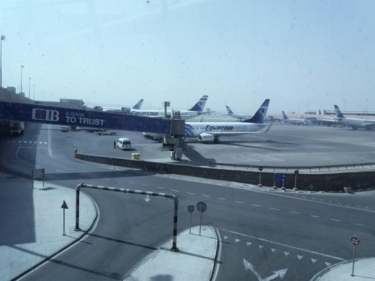 1210. Aeropuerto de El Cairo
