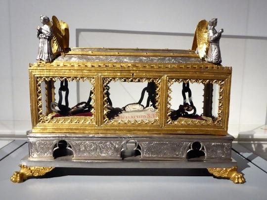 125. Museo della Opera del Duomo. Relicario de las cadenas de San Pedro. Taller florentino. Primera mitad del XV.