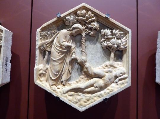 126. Museo della Opera del Duomo. Personificación del planeta Júpiter. Taller de Andrea Pisano. 1334-1343