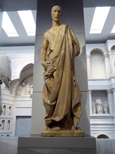 129. Museo della Opera del Duomo. abacuc, conocido como Zuccone. Donatello. 1434-1436