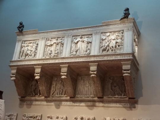 133. Museo della Opera del Duomo. Coro de Luca della Robbia. 1431-1438