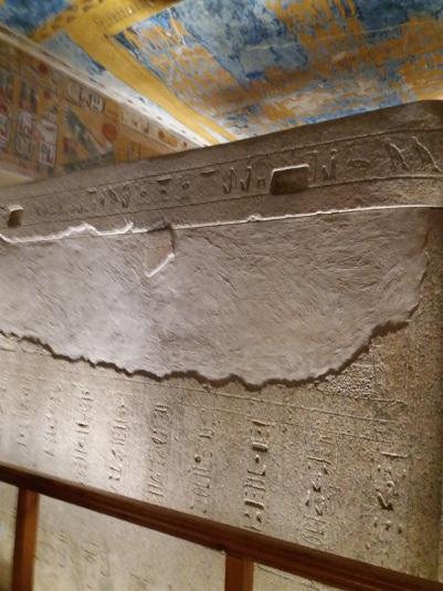 141. Valle de los Reyes. Tumba de Ramsés IV