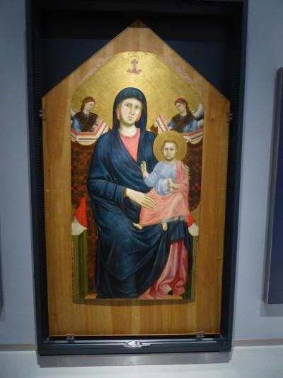 142. Museo della Opera del Duomo. La Virgen de San Giorgio alla Costa. Giotto. 1288-1295