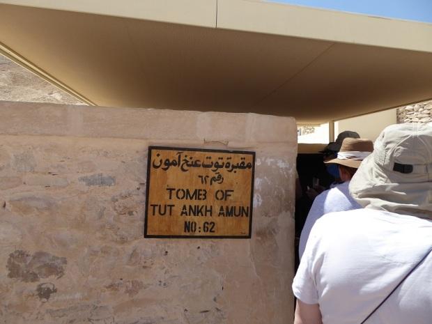 142. Valle de los Reyes Tumba de Tutankhamon