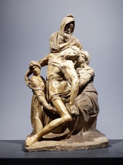 143. Museo della Opera del Duomo. Piedad. Michelangelo Buonarroti. 1547-1555