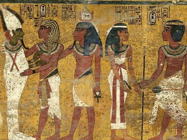 143. Valle de los Reyes Tumba de Tutankhamon