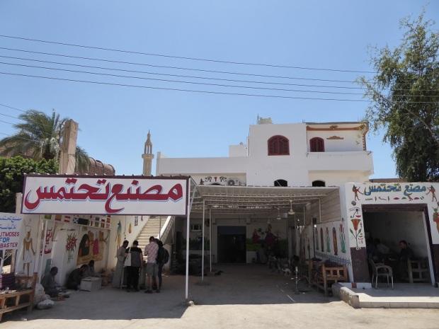 150. Luxor. Fábrica de alabastro